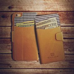 Exinoz iPhone 6 Plus Leather Wallet Case [Special Edition]