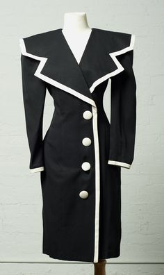 1980's Black Nautical Sailor Dress with by LauraDarlingDeluxe, $35.00