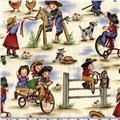"""Michael Miller """"Little Cowpokes"""" fabric.  I need to invent a project to use this."""