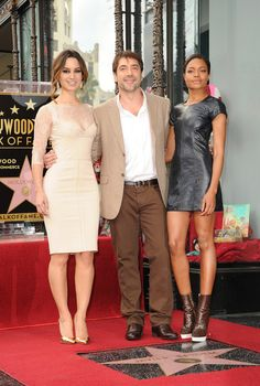 Berenice Marlohe Photos - Javier Bardem Honored On The Hollywood Walk Of Fame - Zimbio