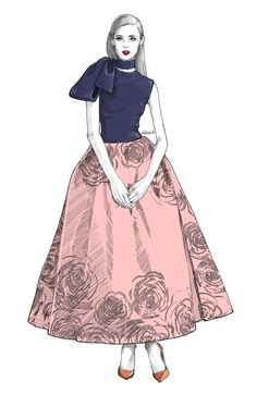 Use tutorial at Charity Shop Chic for this - need a stretch top and some floral fabric + organza for the skirt.