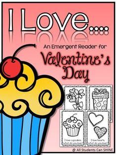 Valentine's Day Emergent Reader FREEBIE
