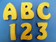 Plywood 80mm 12mm thick letters numbers (NOT MDF) craft decopatch