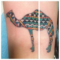 camel tattoo