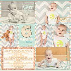 Project Life Baby Boy Scrapbook Album | Krista Lund Photography San Francisco Bay Area Newborn, Maternity, Child and Family Photographer