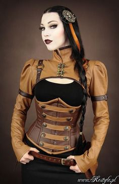 Image result for steampunk style