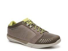 Men's Merrell Roust Fury Hiking Shoe - Taupe/Green