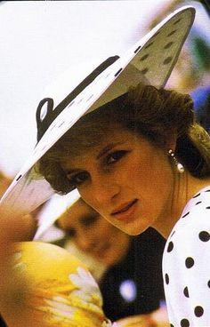 Princess Diana, June 4, 1986