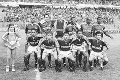 Deportivo Cali Con 'Pecoso' Castro logró el título de 1998. Bonilla, Yepez, Dudamel, Valencia, Dinas, Zapata, Córdoba, Torres, Bedoya, Hurtado y Reynoso. Faltan Candelo, Gaviria, Mafla, 'Pelusa' Pérez y Betancurt.