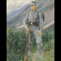 Austria, Austro Hungarian, Kaiser, Military Art, World War, History, Soldiers, Painting, Weapons