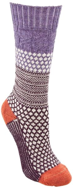 I LOVE THESE!!! Smartwool socks keep your feet warm and your head in the game.   PlanetShoes.com Blog