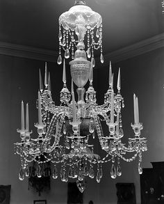 Glass Chandelier, c. 1787