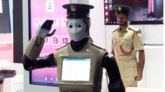Robocop gesichtet - Erster Polizei-Roboter in Dubai im Einsatz