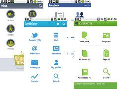 Android UI pattern: consistent action bar & main menu