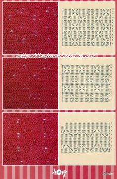 Crochet Stitches, Crochet Patterns, Crochet Coat, Crochet Diagram, Hobbies And Crafts, Charts, Colours, Handmade, Google Translate