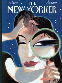 Lorenzo Mattotti art vintage cover magazine The New Yorker illustration