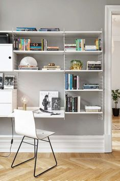 Interior inspiration | String shelves