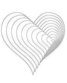 Kreise Muster Ausmalbild | CIRCLES-COLORING PAGES.. | Pinterest ...