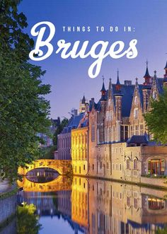 With the whole historical city listed as a UNESCO World Heritage Site, you�ll truly be transported to the medieval times in Bruges � a true gem of Belgium! | via http://iAmAileen.com/in-bruges-belgium-fairy-tale-town/ #travel #ttot #Bruges
