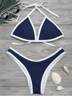 Up to 80% OFF! High Cut Contrast Piping Bikini Set. #Zaful #Swimwear #Bikinis zaful,zaful outfits,zaful dresses,spring outfits,summer dresses,Valentine's Day,valentines day ideas,cute,casual,fashion,style,bathing suit,swimsuits,one pieces,swimwear,bikini set,bikini,one piece swimwear,beach outfit,swimwear cover ups,high waisted swimsuit,tankini,high cut one piece swimsuit,high waisted swimsuit,swimwear modest,swimsuit modest,cover ups,swimsuit cover up @zaful Extra 10% OFF Code:ZF2017