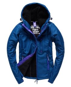 Superdry Hooded Winter Windtrekker Jacket
