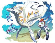 Always thought this was Gomamon   mega evolution, reguardless Pleismon is a gorgeous aqua digimon.