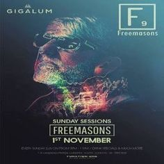 Sunday Sessions - Get Down Recordings w/ Freemasons & Kid Massive at Gigalum, 7/8 Cavendish Parade, London, SW4 9DW, UK on Nov 01, 2015 at 3:00pm to 11:00pm Sunday Sessions Get Down Recordings Presents Freemasons, Kid Massive, Jason Chance & Ash Paine Free Entry Sunday 1st November 15:00 - 23:00 Gigalum, 7-8 Cavendish Rd, London SW4 9DW Get Down Presents: Freemasons Kid Massive Jason Chance Ash Paine URL: Facebook: http://atnd.it/36286-1 Category: Nightlife