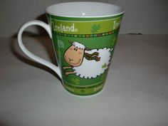 Vintage Ireland Irish Sheep Souvenir Coffee Tea Cup Mug Retro Shamrock Design | eBay
