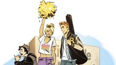 Graphic novel of the week: This 'Archie' kid is going places http://ift.tt/1UW5ZCH  Confession: Until this week in two decades of living in America I had never so much as picked up an Archie comic.  I hadnt really seen the need to be honest. Glancing at their covers at supermarket checkouts over the years told me pretty much everything I needed to know  that Archie was caught in some sort of chaste high-school love triangle between girl-next-door Betty and snooty Veronica; that Jughead was…
