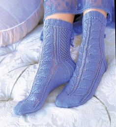 Lace Socks [VKSS09_29] | Craftsy