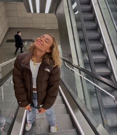 Looks Street Style, Looks Style, Doudoune The North Face, Cute Casual Outfits, Fall Outfits, Edgy Outfits, Mode Swag, Mode Lookbook, Look Fashion