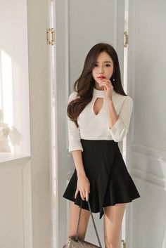 Any One Of These Animals Could Seriously Be My Spirit Animal Classy Outfits, Sexy Outfits, Sexy Dresses, Cute Dresses, Girl Outfits, Fashion Dresses, Cute Outfits, Korean Girl Fashion, Asian Fashion