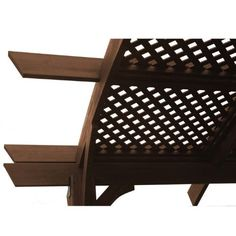 Lattice Roof with 16 Panels for Sonoma Pergola by Brookstone. $2159.10. Lattice Roof with 16 Panels for Sonoma Pergola. The Lattice Roof with 16 Panels for the Sonoma 16'x16' Pergola The wood is prefinished with stain containing UV inhibitors, which slows down fading. We suggest restaining as needed. The hardware is powder coated annealed steel. It includes everything needed with the exception of fasteners to secure to the surface. All pergola pieces come with fastening devi...