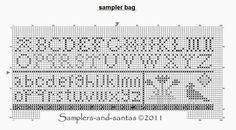 Samplers and Santas: FREE