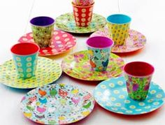 RICE Melamine Bowl set (DANISH)