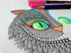 Cat from ' Alice in Wonderland '  * drawing * arts and craft * wicked * cat