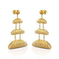 Neue Trends, Drop Earrings, Jewelry, Design, Fashion, New Fashion, Moda, Bijoux, Drop Earring