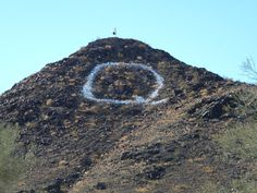 "The ""Q"" on Q Mountain can be seen from I-10 coming into Quartzsite!  Really cool!  For gold prospecting and rockhounding supplies, great outdoor gear, plus lots of great  rocks, minerals, fossils, and meteorites, check out RocksInMyHead™ website http://RocksInMyHead.biz For lots of awesome stories about our rockhounding and gold prospecting adventures, plus maps, info, photos and more go to Adventures With Rocks™ at http://JedidiahFree.blogspot.com."