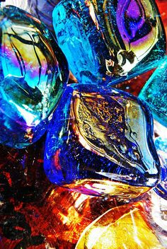 Glass Abstract 687 Photograph by Sarah Loft