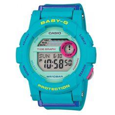 Casio Baby-G Ladies Watch BGD-180FB-2ER #Casio #BabyG #Watch #CasioWatch #BabyGWatch #Blue