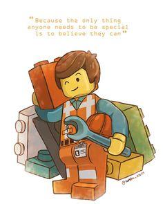 Emmet Lego, Lego Ninjago, Lego Film, Lego Movie 2, Movies 2014, Good Movies, Lego Painting, La Grande Aventure Lego, Steven Universe Oc