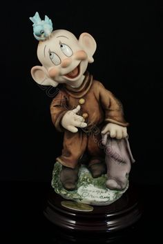 Giuseppe Armani Disney figurine Snow White 1259C Dopey's New Friend