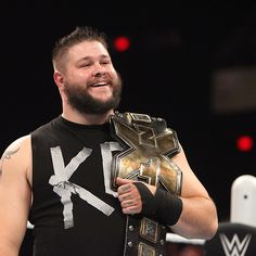 Pro wrestling & body positivity don't often mix, but our latest Man of the Week has been bucking the fat shakers & getting a lot of love from the fans. Meet Kevin Owens: http://chubstr.com/2015/features/man-of-the-week-wwe-superstar-kevin-owens/