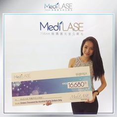 【MediLASE 專屬美容達人.皇牌推薦人大獎】 為感謝過百位人氣beauty bloggers對MediLASE嘅支持及嘅肯定,我哋特設【MediLASE 專屬美容達人.皇牌推薦人大獎】,令廣大讀者透過美容達人分享,從而認識及暸解 MediLASE 無痛激光脫毛專業科技,為追求完美嘅女性打造最完美白滑肌膚。  恭喜新生代Beauty blogger Cherrie Tam獲得最多讀者支持及得到此獎項,並獲贈由中心送出價值HK$16,680嘅護理療程,冀望Cherrie能繼續享受MediLASE專業細緻貼心嘅服務,致力為肌膚達致真正光滑無瑕!  免費登記PRO-Test: http://t.cn/z80whiF  http://www.medilase.com.hk/