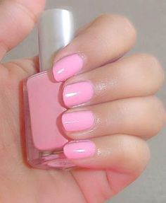 Simple, but cute nails.