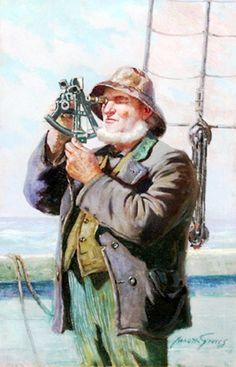 Abbott Fuller Graves (1859 – 1936) США(люди и море)