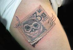 3D Stamp tattoo *****