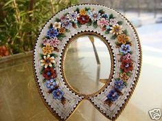 Antique Micro Mosaic frames