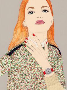 Modeconnect.com - Fashion Illustration by Anna Higgie
