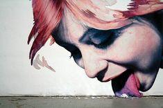 Wall mural, Warsaw, Poland (street art)